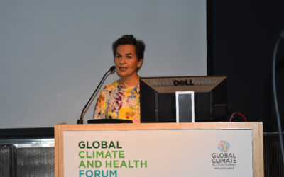 Forum Calls for Action on Climate Change to Protect Health