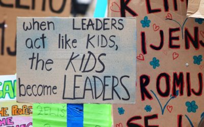 Schoolchildren's activism is a lesson for health professionals
