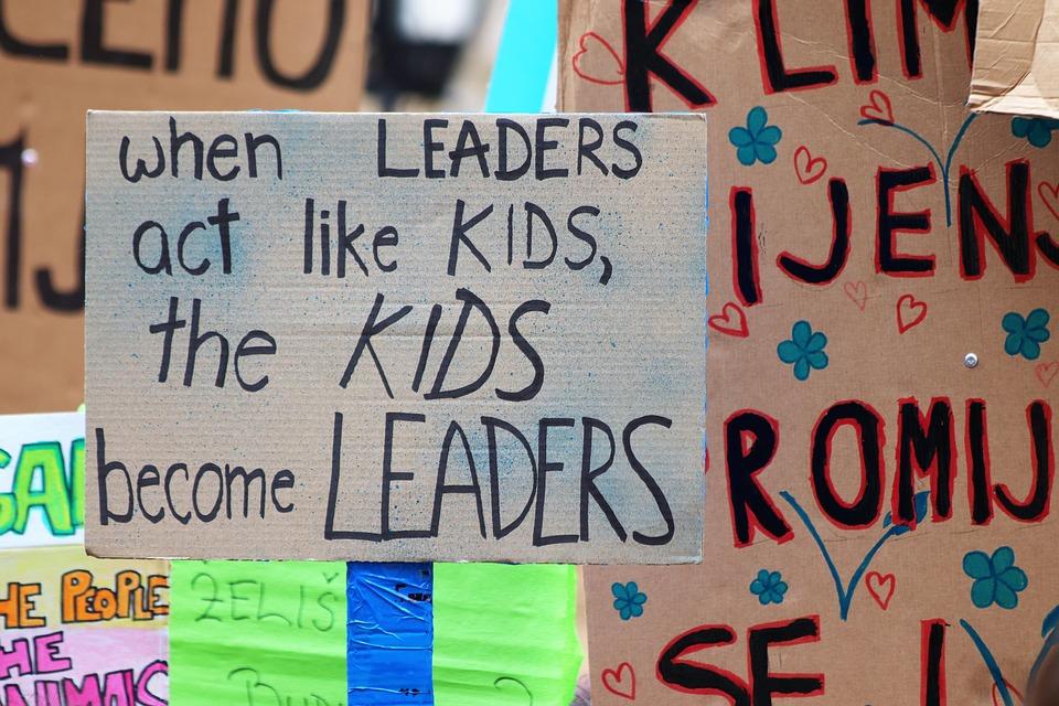 Schoolchildren's activism is a lesson for health professionals