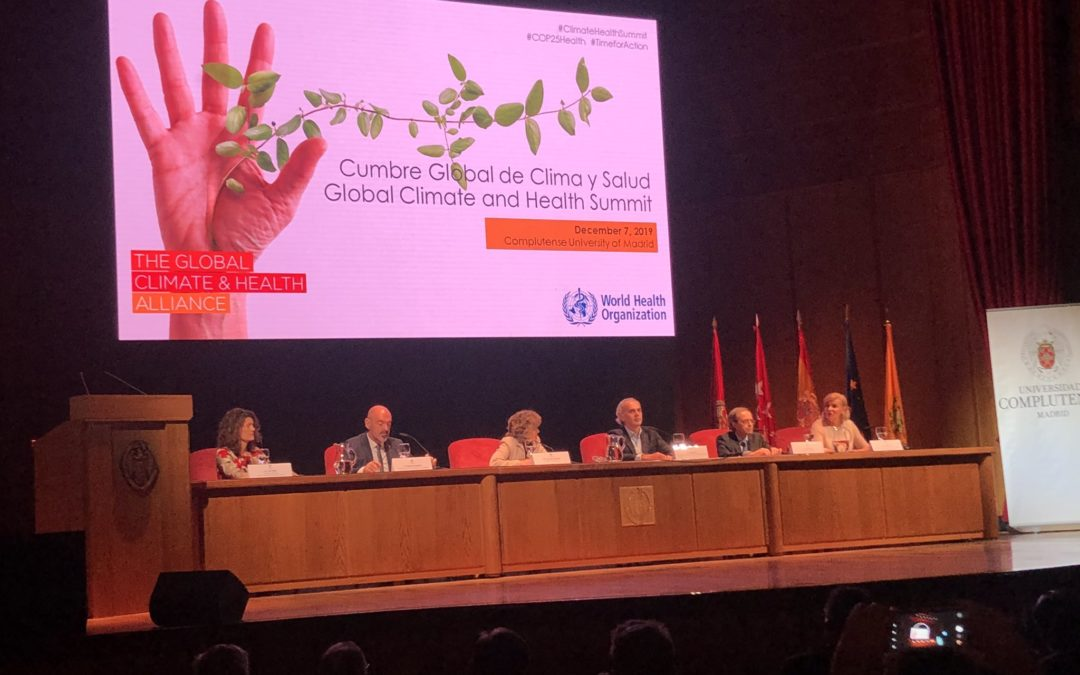 COP25: Health sector denounces lack of funds for global climate measures