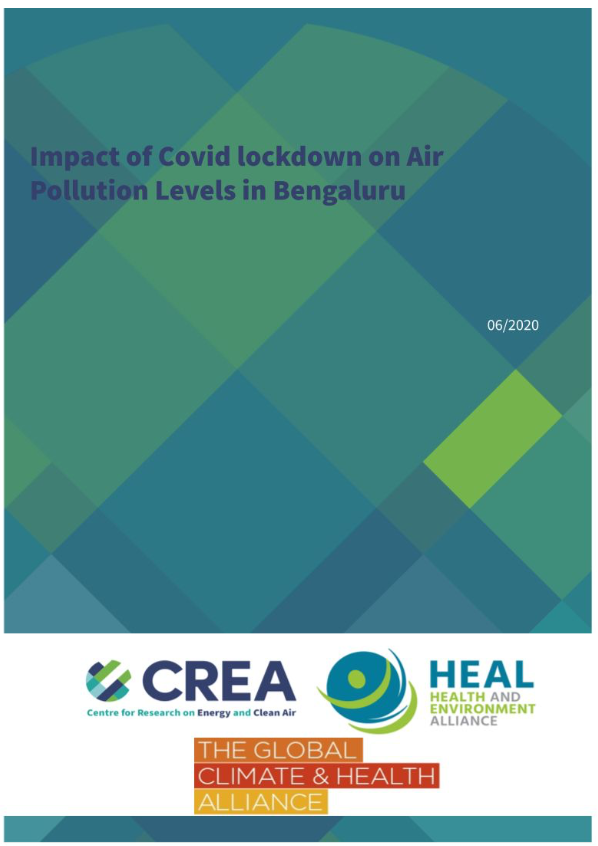 Impact of Covid lockdown on Air Pollution Levels in Bengaluru