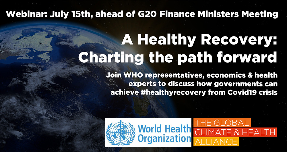 Webinar: Ahead of G20 Finance Meeting, Health Community Calls for Healthy, Sustainable, Inclusive Public Investments