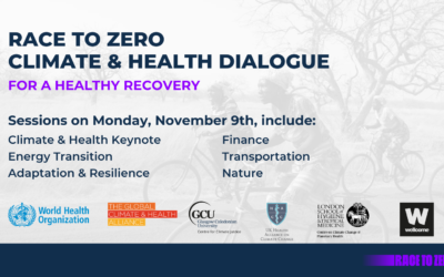 November 9th Global Health Community Gathering to Call for Ambitious Climate & Health Action