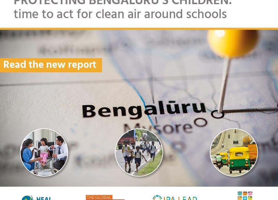Report: Bengaluru Schoolchildren Breathing Polluted Air