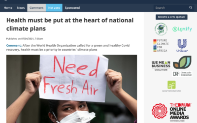 Health Must Be Part and Parcel of Climate Policy