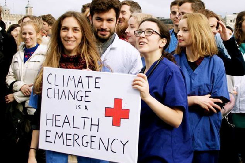 Health Community Is Pushing Climate Action as Make-or-Break National Commitments Get Decided