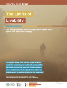 The Limits of Livability - Country brief: Brazil