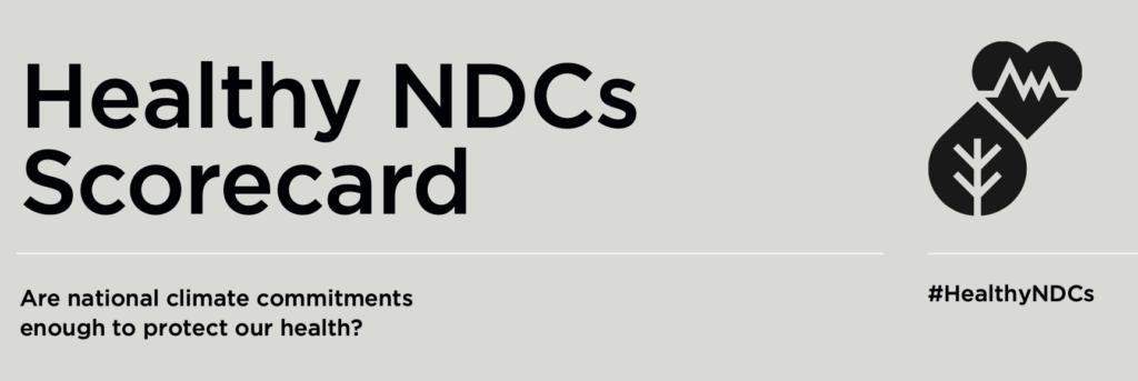 Health NDCs Scorecard