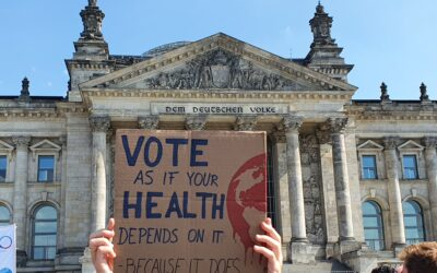 Voting for a healthy future – how German activists made climate change and health an election issue